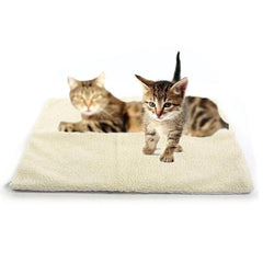 Self Heating Pet Bed Thermal Washable No Electricity Required