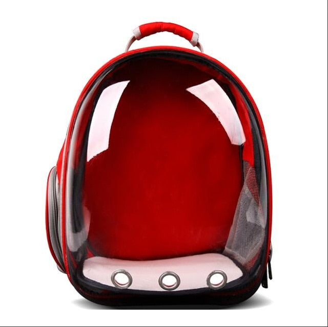 Transparent Pet Carrier Backpack -All Proceeds Go Towards Saving Animals