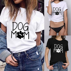"Dog Mom Shirt ""All Proceeds Goes Towards Saving Animals"""
