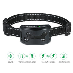Rechargeable Anti-Barking Collar with Beep/Vibration/Harmless Shock Modes (All Proceeds Go Towards Saving Animals)!