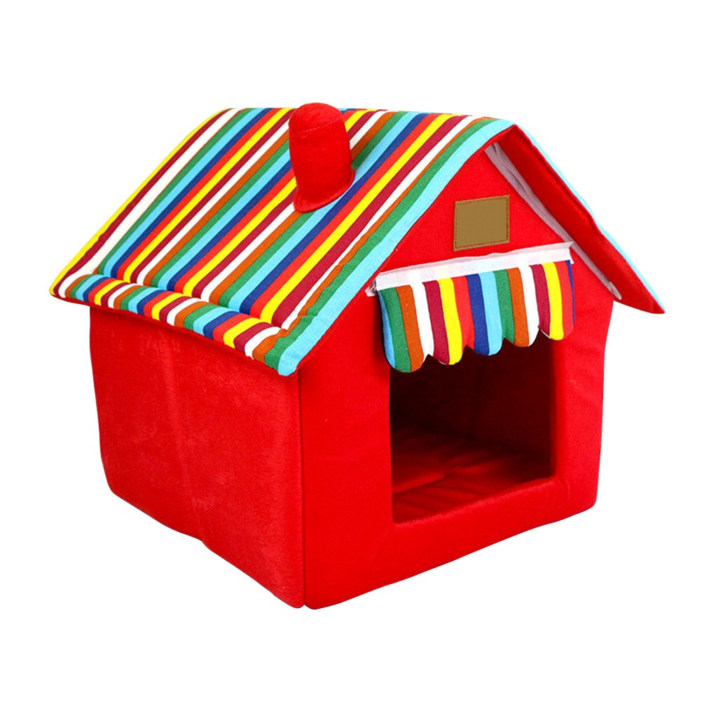 "Pet House with Chimney ""All Proceeds Goes Towards Saving Animals"""