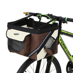 "Bicycle Handlebar Pet Basket ""All Proceeds Goes Towards Saving Animals"""