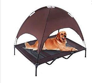 "Indoor/Outdoor Foldable Elevated Dog Cooling Bed ""All Proceeds Goes Towards Saving Animals"""