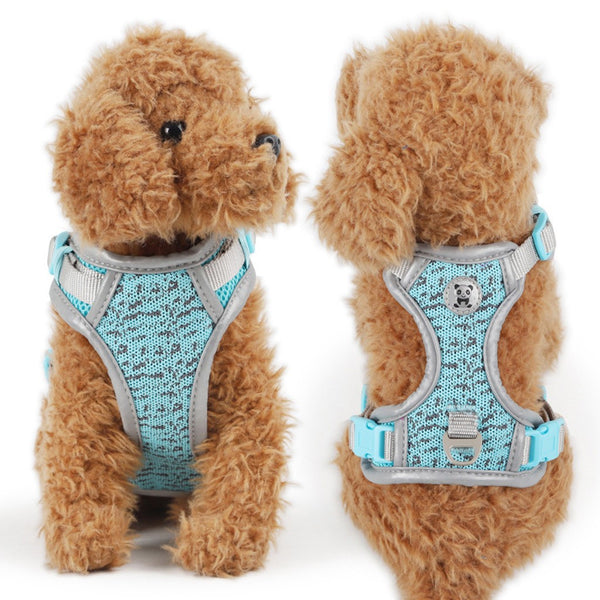 "Corduroy Mesh Adjustable Dog Harness ""All Proceeds Goes Towards Saving Animals"""