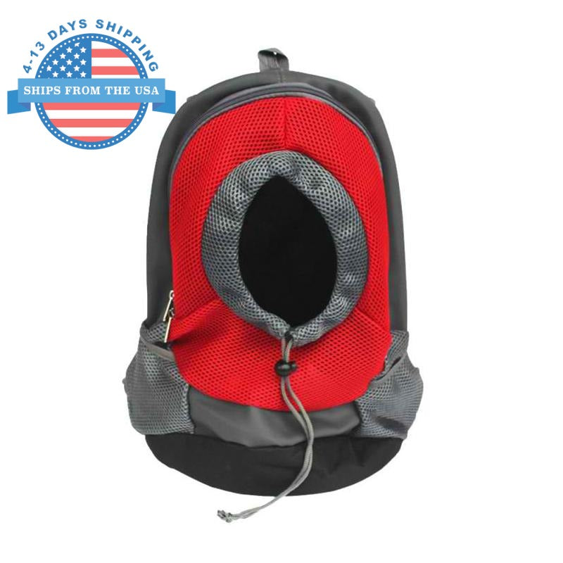 Adjustable Pet Carrier Red / L Accessories