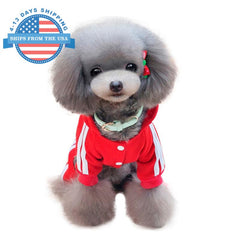 Sports Dog Costume Red / L Clothes