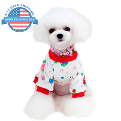Fun Prints Dog Clothes Red / M