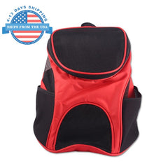 Colorful Travel Dog Carrier Red Accessories