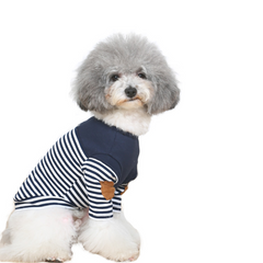 Stripes Navy Doggo Shirt