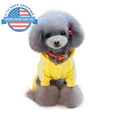 Sports Dog Costume Yellow / L Clothes