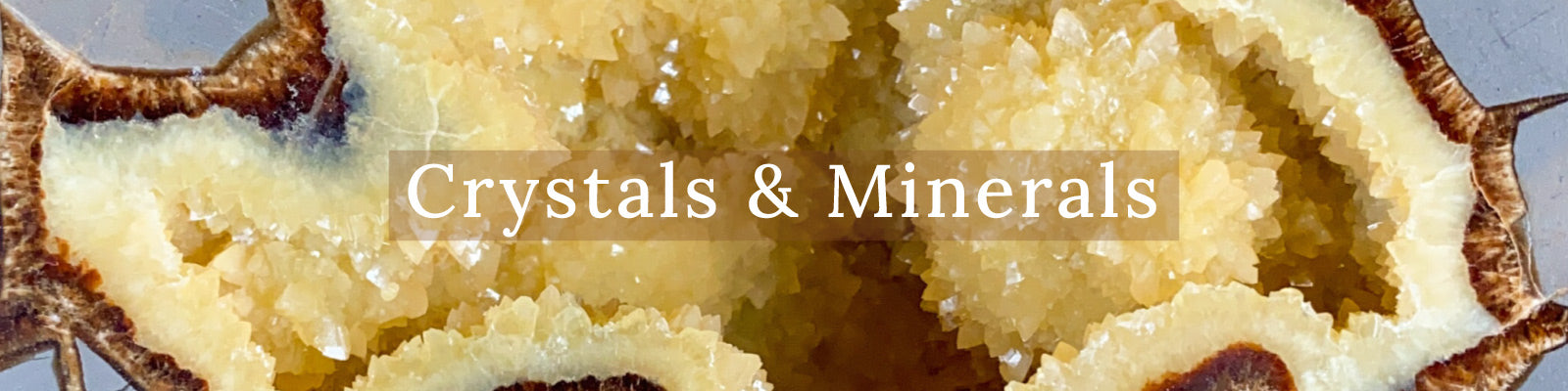 Unearthed Crystals and Minerals