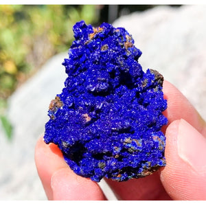 Azurite Crystal Cluster Morocco