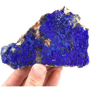 Azurite with Malachite and Galena Mineral Specimen