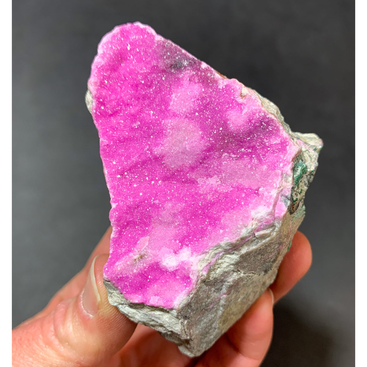 Cobaltoan Calcite Pink Calcite from DRC
