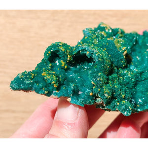 Dioptase and Mimetite Crystal Cluster Congo