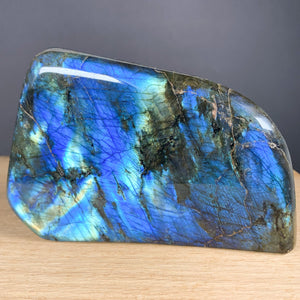 Labradorite Blue and Gold Rock with Labradorescence