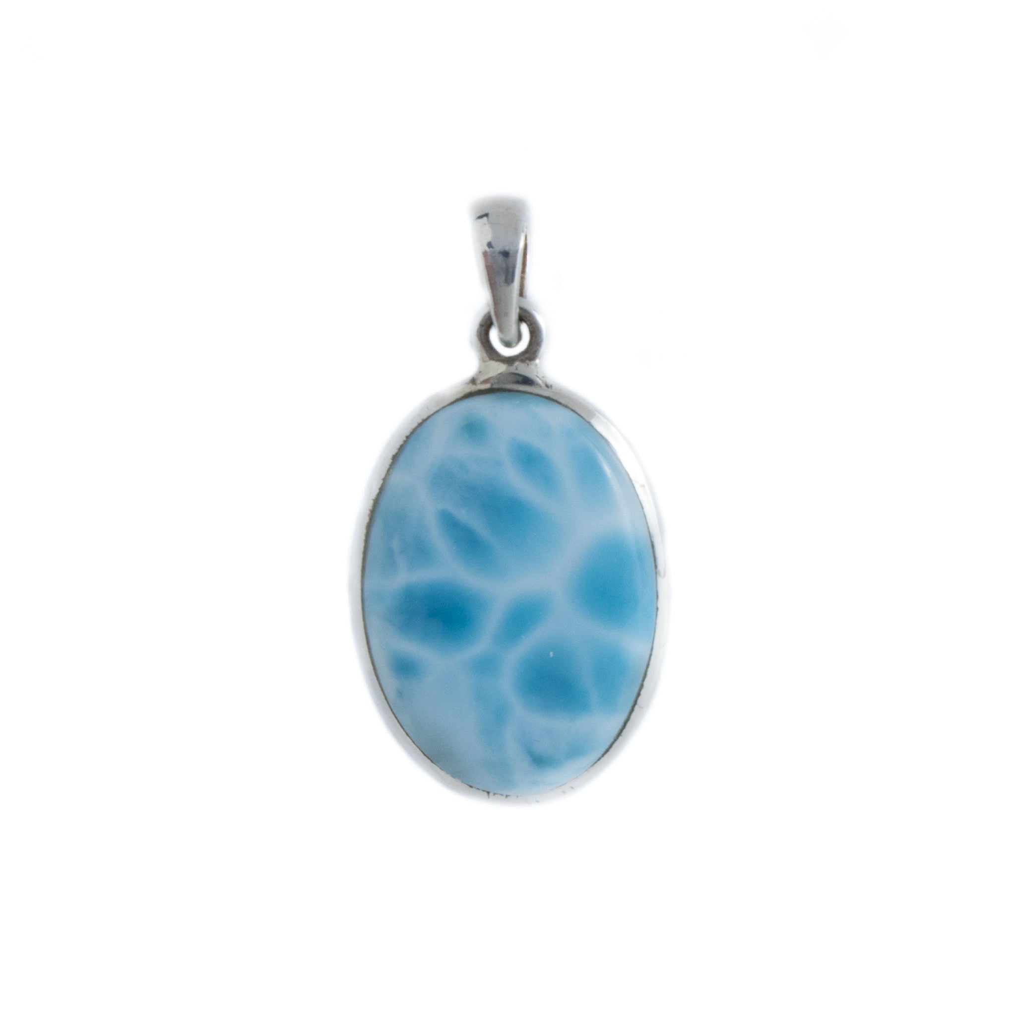 Larimar pendant unearthed store larimar pendant in sterling silver aloadofball Gallery