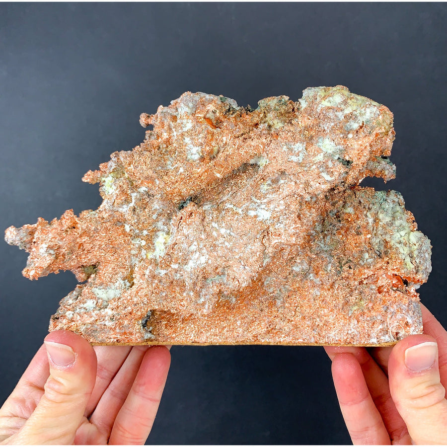 Native Copper with Quartz