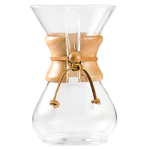 اناء كيمكس ذو ال 6 أكواب Chemex® |Chemex® 6-Cup Pour Over Coffee Maker