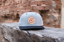 Leather Patch Snapback - 2 Colors