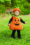 Mud Pie Baby Halloween Costume Unisex, Pumpkin, 0-18 MOS