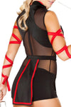 4pcs Ninja Striker Costume