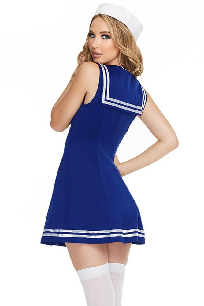 sc 1 st  Discount Halloween City & Sexy Pin up Sailor Costume - Discount Halloween City