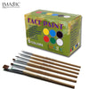 iMagic Body Painting 6 Colors + Brush Body & Face Painting Kit