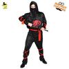 Halloween Teen Ninjia Warrior Costume Cosplay Party Performance Clothes For Adults Halloween Party Ninjia Warrior Costumes