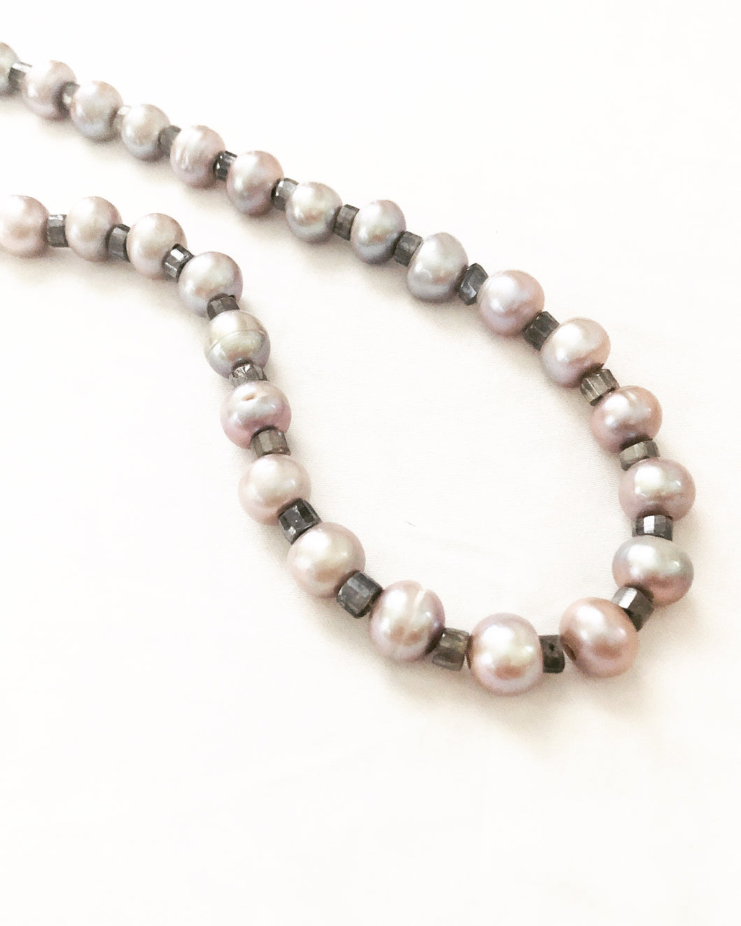 Gray Pearls with a Gemstone Twist!