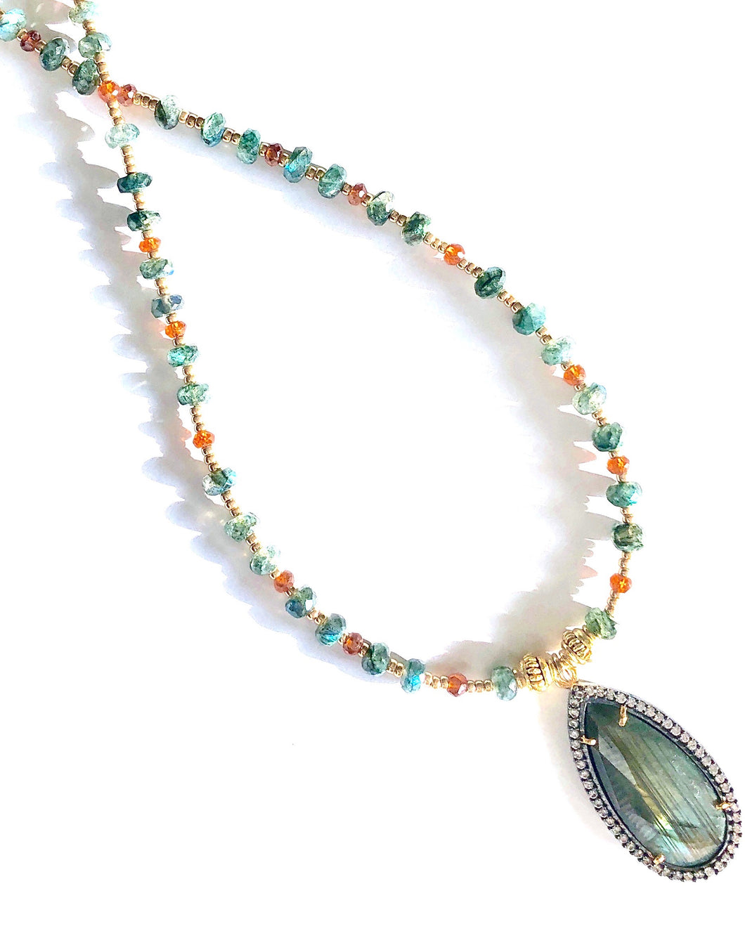 Colorful Gemstone Piece for Everyday!