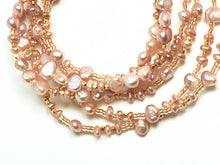 Freshwater & Keishi Pearl Necklace is so versatile!