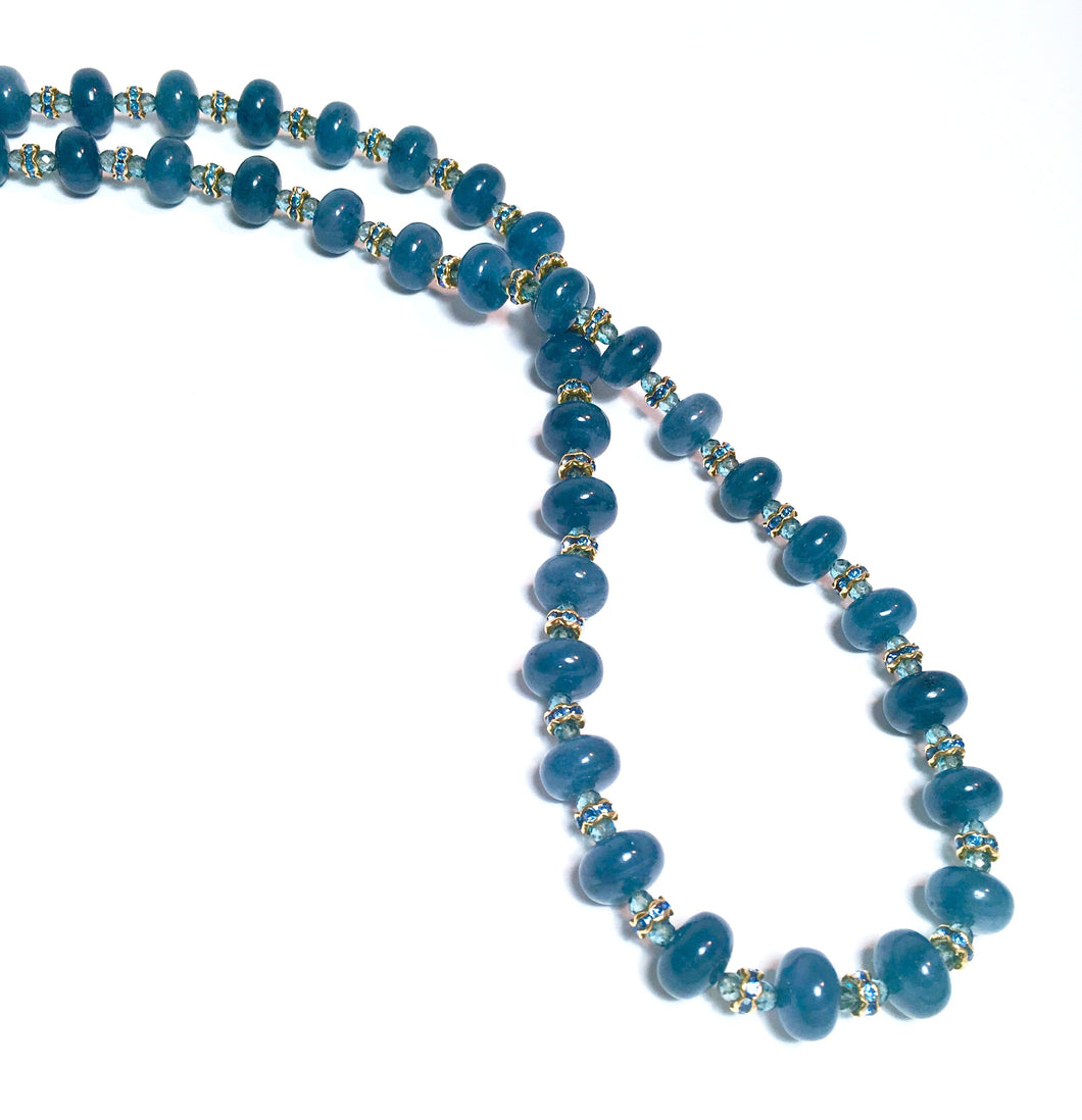 Subtle Beauty: The Angelite Necklace