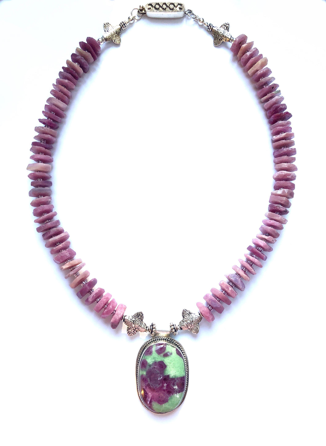 A Very Special Statement Piece with Ruby Zoisite!
