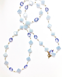 Fabulous Pastels! Moonstone, Blue Lace Agate & Quartz