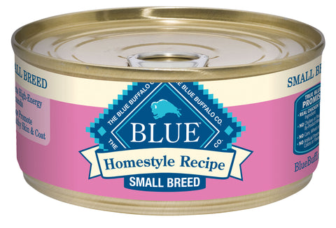 Blue Buffalo Homestyle Recipe Small Breed Chicken Dinner with Garden Vegetables and Brown Rice Canned Dog Food