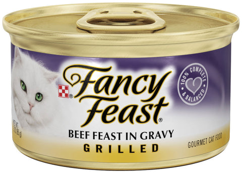 Fancy Feast Grilled Beef Canned Cat Food