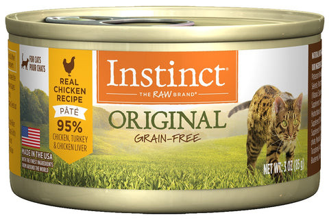 Nature's Variety Instinct Grain-Free Chicken Formula Canned Cat Food