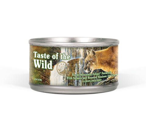 Taste Of The Wild Rocky Mountain Canned Cat Food