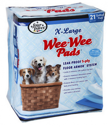 Four Paws Wee-Wee Extra Large Puppy Housebreaking Pads