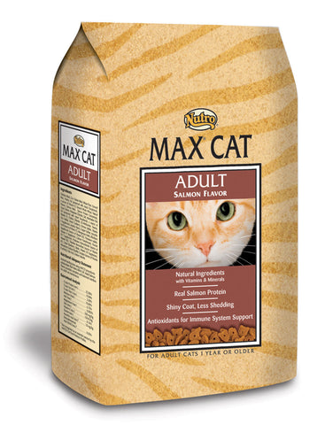 Nutro Max Adult Salmon Dry Cat Food