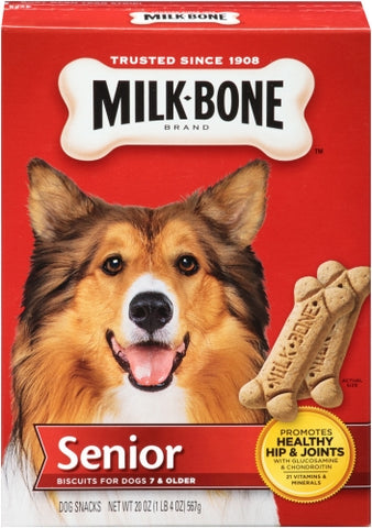 Milk-Bone Original Senior Dog Biscuits