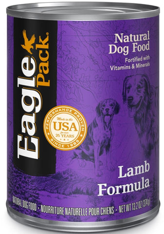 Eagle Pack Natural Lamb Formula Wet Canned Dog Food