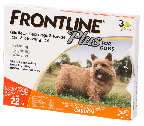 Frontline Plus for Small Dogs and Puppies
