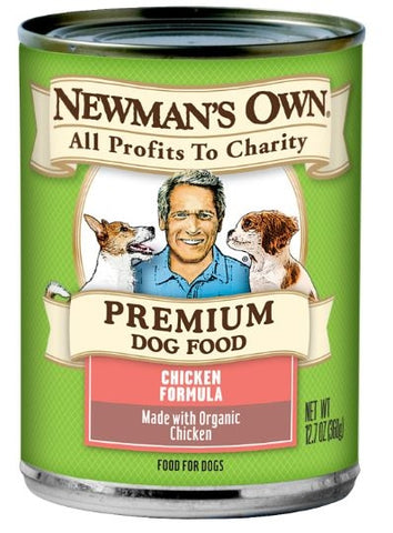 Newman's Own Organics Chicken Formula Canned Food for Dogs
