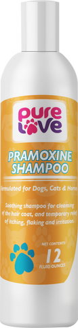 Pure Love Pramoxine Shampoo for Dogs and Cats