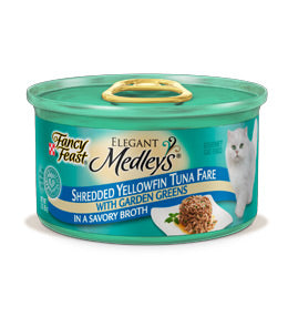 Fancy Feast Elegant Medleys Shredded Tuna Canned Cat Food