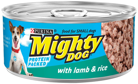 Purina Mighty Dog Lamb and Rice Canned Dog Food
