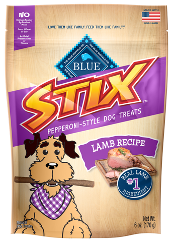 Blue Buffalo Stix Lamb and Apple Dog Treats