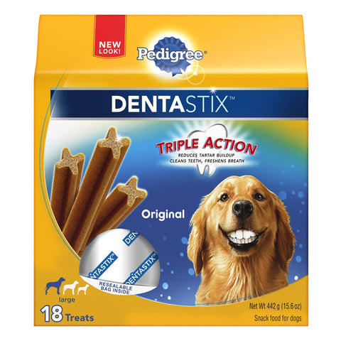 Pedigree Dentastix Dog Treat for Large Dogs